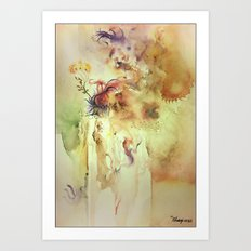 Lost inside Art Print