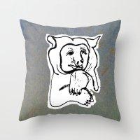Bear 4 Throw Pillow