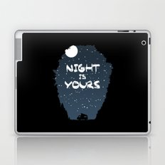 Night Is Yours Laptop & iPad Skin