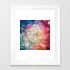 Artistic Colorful Pink P… Framed Art Print