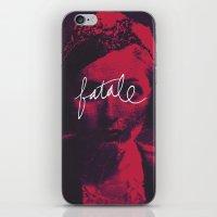 femme fatale iPhone & iPod Skin