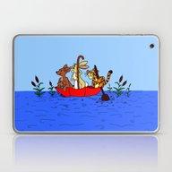 Floating Umbrella Laptop & iPad Skin