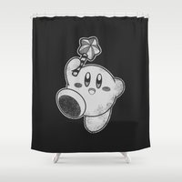 Kirby's Dream Land Shower Curtain