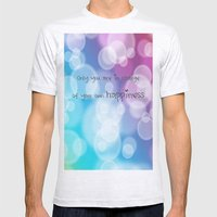 Charisma Bokeh Mens Fitted Tee Ash Grey SMALL