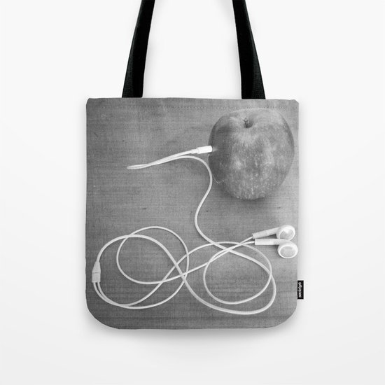 Wrong Apple Tote Bag