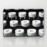Vintage Typewriter 3 iPad Case