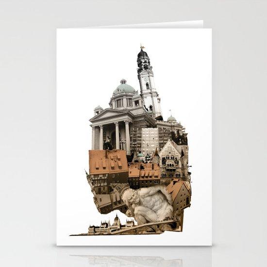Budapest Stationery Card