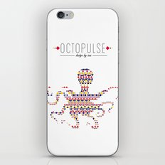 Octopulse | Design by sea iPhone & iPod Skin