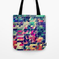 Tote Bag featuring Atym by Spires