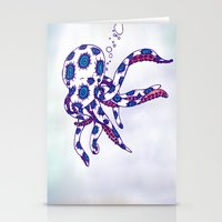 Octo Pus Stationery Cards