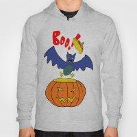 Halloween Bat  Hoody