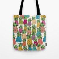 West Coast pineapples Tote Bag