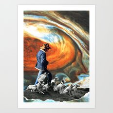 Into The Mystic Art Print