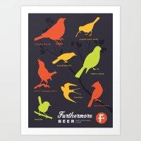 Furthermore Beer Identification Chart Art Print