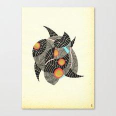 - summer spaceships of love - Canvas Print