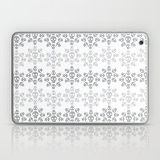 Skull Flowers Laptop & iPad Skin