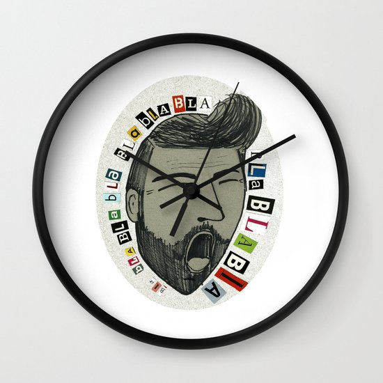Bla bla bla... Wall Clock