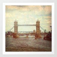 Tower Bridge 2 Art Print