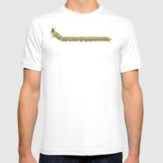 Caterpillar Shoe Fetish White SMALL Mens Fitted Tee
