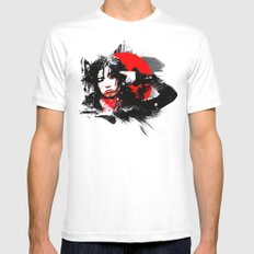 Shiina Ringo Mens Fitted Tee White SMALL