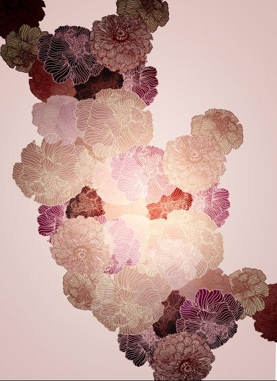 Florals // Pattern II Art Print