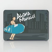 BEACH CRUISER iPad Case
