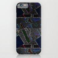 Black Suprematist Compos… iPhone 6 Slim Case