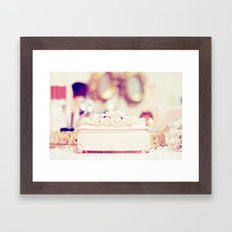 To be a woman. Framed Art Print