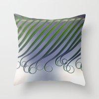 Cycas - leaf born 2664 Throw Pillow