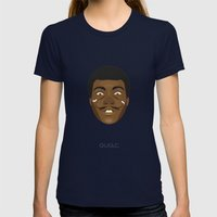 Coupling up (accouplés) Muhammad Dali Womens Fitted Tee Navy SMALL