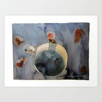Lunar dust Art Print