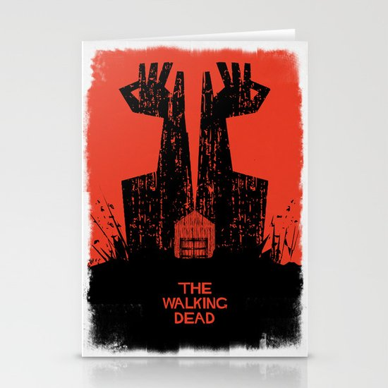 The Walking Dead. Stationery Card