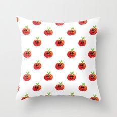 Apple Cutie Throw Pillow