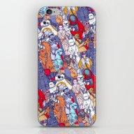 Space Toons In Color iPhone & iPod Skin