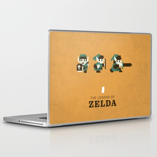 The Legend of Zelda Laptop & iPad Skin