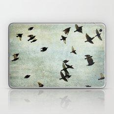 Birds Let's fly Laptop & iPad Skin