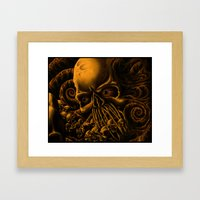 The Unleashing Framed Art Print