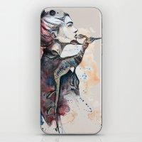 seehorse by carographic iPhone & iPod Skin