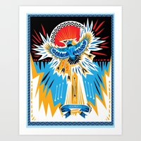 Death To The Blue Jays Art Print