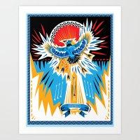 Death to the Blue Jays Art Print