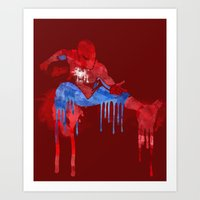 With Great Power Comes G… Art Print