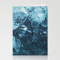 Aquamarine Gem Dreams Stationery Cards