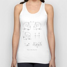 Drop a Beat! Unisex Tank Top