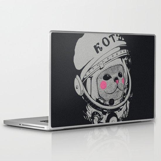 Spaceman cat Laptop & iPad Skin