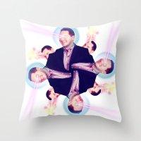LAZERCORN BOB Throw Pillow