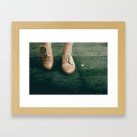 thrifting magic Framed Art Print