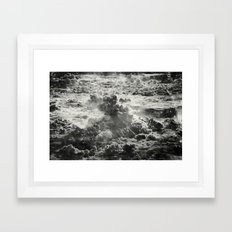 Somewhere Over The Clouds (III Framed Art Print