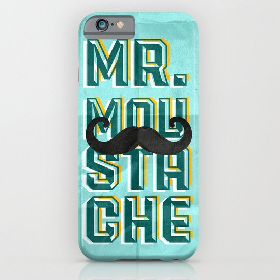 mr moustache iPhone & iPod Case