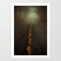 What Lies Ahead Art Print