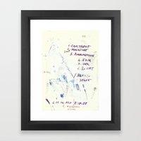 110 3 Framed Art Print